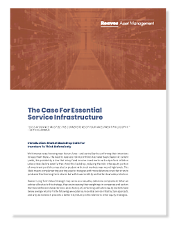 The Case for Essential Services Infrastructure